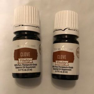NWT Clove Vitality Essential Oil Young Living 5 ml